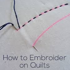 How Do I Embroider on Quilts? | Shiny Happy World & How Do I Embroider on Quilts? Adamdwight.com
