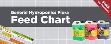 General Hydroponics Flora Feed Chart Free Download