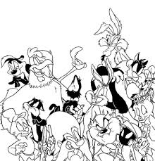 Small Picture Looney Tunes Coloring Pages Ppinewsco