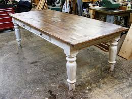 white scrubbed pine farmhouse table i love the look of a sy farm table for both meals and as work surfaces