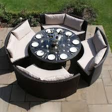 maze rattan dallas sofa dining set