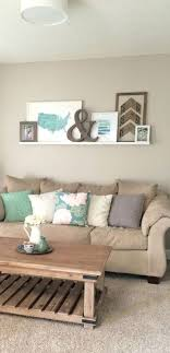 Our Front Room Makeover: A Long Overdue Reveal!   Sobremesa Stories Living  Room Makeover With Weathered Wood, Green, Blue, White Accents, And Ledge  Gallery ...