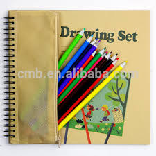 coloring sets. Perfect Sets Coloring Book Stationery Set With Recycled Newspaper Pencils For Kids  Drawing Inside Sets L