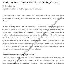 social justice essays social justice essay 11 27 01 period 5 by m c