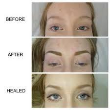 eyebrow microblading blonde hair. semi-permanent eyebrows by myself at deeper aesthetics permanent cosmetics. www.deeperaesthetics. eyebrow microblading blonde hair