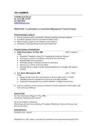 Sample Resume For Bank Teller Free Resume Templates