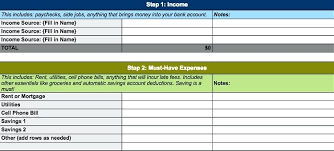 How To Plan A Personal Budget 4 Free Simple Personal Monthly Budget Templates Daily Spending