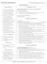 Engineering Resume Templates Beauteous Engineering Resume Example Sample Engineering Resume Templates