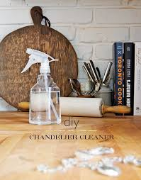 chandelier cleaner diy 1