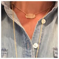gorjana tanner necklace on asksuzannebell com neither the gold or rose