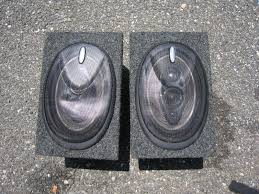 pioneer 6x9 speakers. these speakers are housed in a matching 6x9\ pioneer 6x9