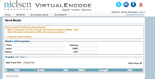 Send Music Or Video To Soundscan Virtual Encode 4 Billboard Chart