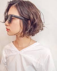 春夏ふわゆれショートボブkj 35 ヘアカタログ髪型ヘアスタイル