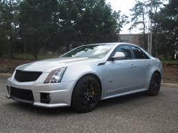 Silver Cadillac Cts
