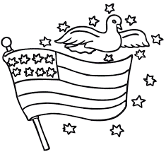 Small Picture American Flag Coloring Page Veteran American Flag Coloring Page