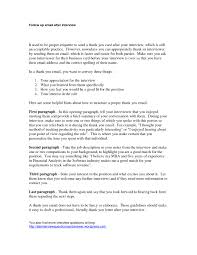 Resume For An Interview 015 Follow Up Letter After Interview Sample How To Write