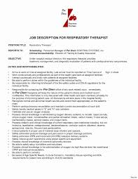25 Luxury Respiratory Therapist Resume Sample Wtfmaths Com