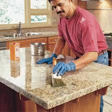 sealing granite counter tops
