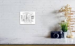 Art Print Display Stand Stunning A Man And A Woman Stand At A Store Display That Art Print By Barbara
