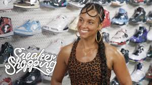 Alicia Keys Goes <b>Sneaker</b> Shopping With Complex - YouTube