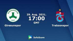 Giresunspor vs Trabzonspor live score, H2H and lineups