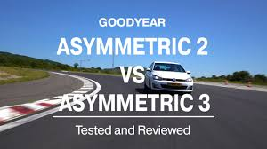 <b>Goodyear Eagle F1 Asymmetric</b> 3 vs Asymmetric 2 - Tested and ...