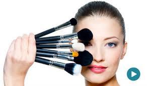 follow makeup videos