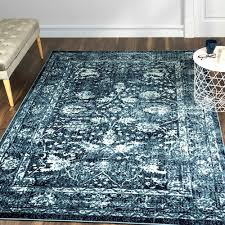a2z rug vintage traditional santorini 6076 collection navy 80x300 cm 2 7 x9 10 ft area rugs best canada