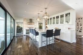 view full size lovely kitchen features a pair of restoration hardware victorian hotel pendants illuminating