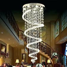 crystal chandelier for foyer chandelier marvellous modern