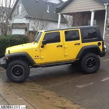 yellow jeep 4 door armslist 2008 jeep wrangler unlimited 4 door