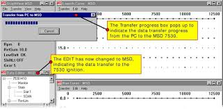 basic operation and function of the msd pro data plus best viewed the transfer progress box pops up to indicate