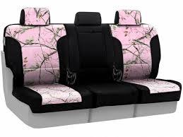 skanda realtree seat covers ap pink two tone rear