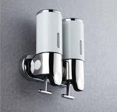 absolutely shower shampoo dispenser stainless steel 2018 wall mount pump twin soap from 48 51 dhgate com mounted bronze uk for ireland head with and