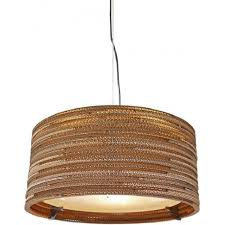 drum recycled slight ceiling pendant light small