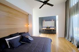Superior Bluff Road House Contemporary Bedroom