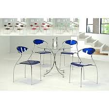 s set of 4 kitchen chairs with casters wooden