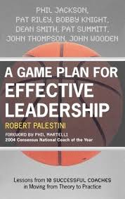 Coach Wooden's Leadership Game Plan For Success A Game Plan for Effective Leadership Robert Palestini 87