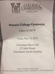 Cofc Honors College At Cofchonors Twitter
