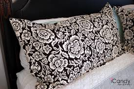 king size pillow shams diy king sized pillow shams and bed makeover icandy handmade