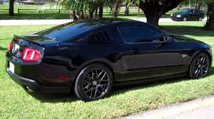 2010 MUSTANG GT FOR SALE BLACKED OUT CLEAN CAR FAX !! 954 937 8271 ...