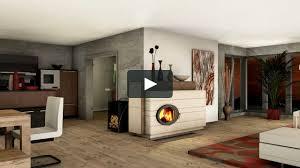 041 Britt Ofendesignfireplacedesign Kachelofen Modern Tiled Stove Contemporary
