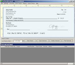 Free Personal Check Template - Kleo.beachfix.co