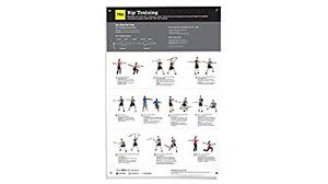 trx rip workout poster ideal exercise guide for the trx rip trainer