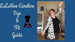 Llr Caroline Size Chart Lularoe Caroline Size Preview Youtube