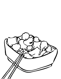 Small Picture Chinese Foods Coloring Pages Handipoints
