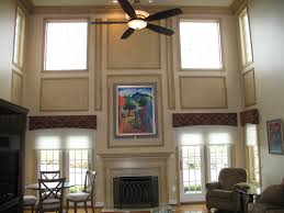 Two Story Living Room Curtains Photos Hgtv Contemporary Two Story Living Room Clipgoo