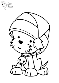 Cute Puppy Coloring Pages Bratz Coloring