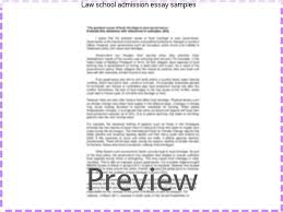 law school admission essay samples research paper academic  law school admission essay samples the personal statement is often the part of the law