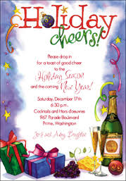 Sample Of Christmas Party Invitation 14 Best Photos Of Christmas Party Invitations Peax967